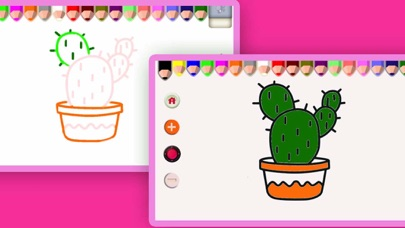 Drawing and Coloring 2 in 1Screenshot of 2