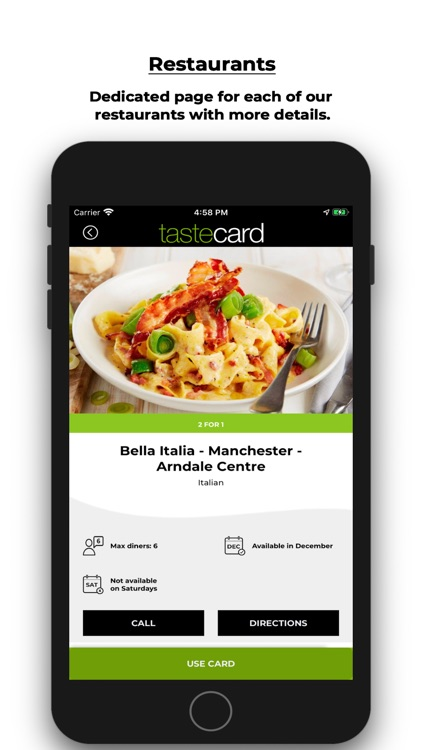 tastecard dining discounts screenshot-4