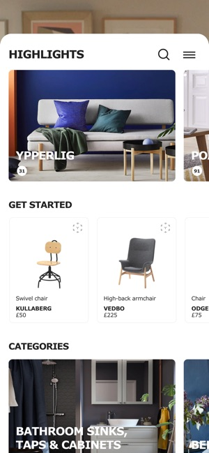 IKEA Place Screenshot