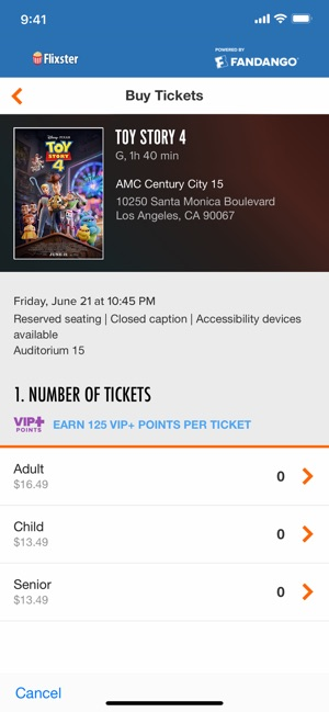 Flixster - Showtimes + Tickets on the App Store
