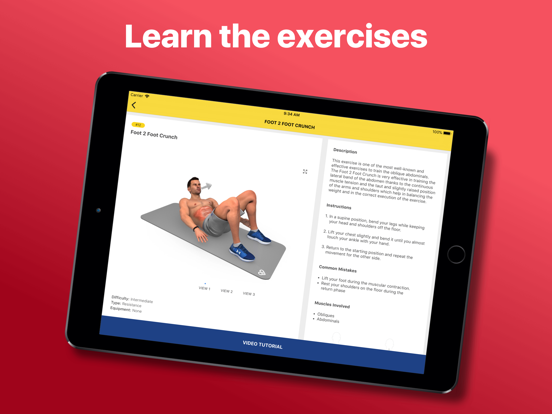 Abs Workout - Daily Fitness-ipad-2