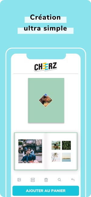 Croissant CHEERZ - Impression photo dans l'App Store YL-83