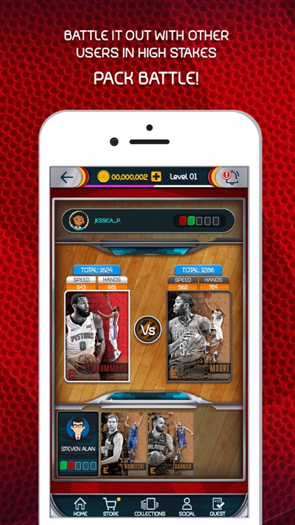 NBA Dunk - Trading Card Games screenshot-3