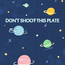 Don't shoot this plate