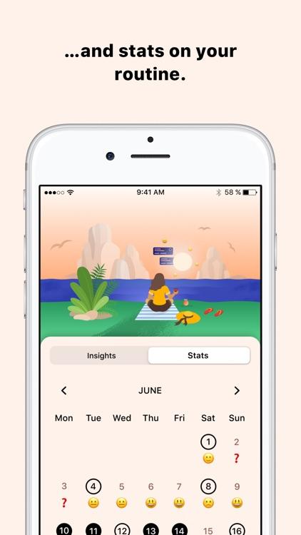 Tangerine: Self-care & Goals screenshot-8