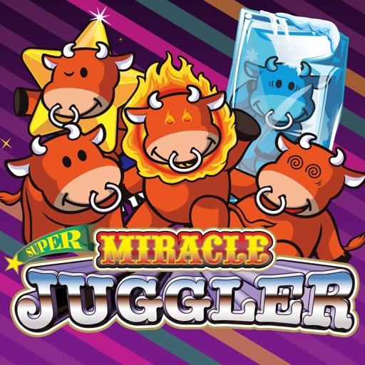 スーパーミラクルジャグラー-有料パチスロアプリ, 北電子, パチスロ-512x512bb