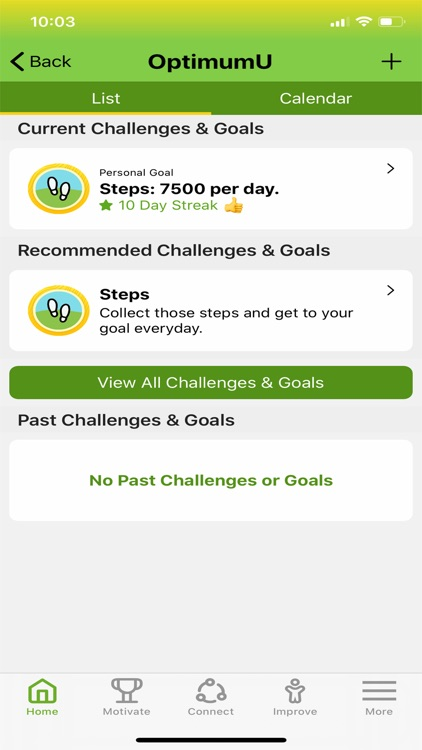 OptimumU: Health & Fitness screenshot-9