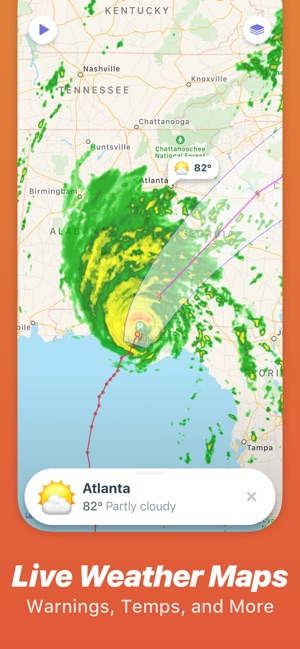Weather Up Live Weather Radar On The App Store