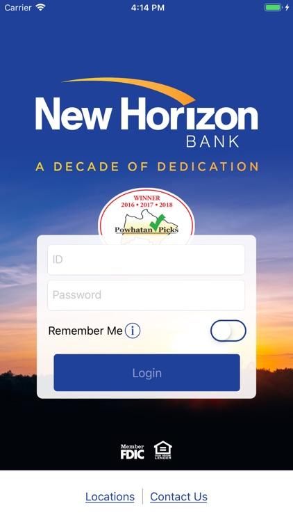 New Horizon Bank MobileBanking