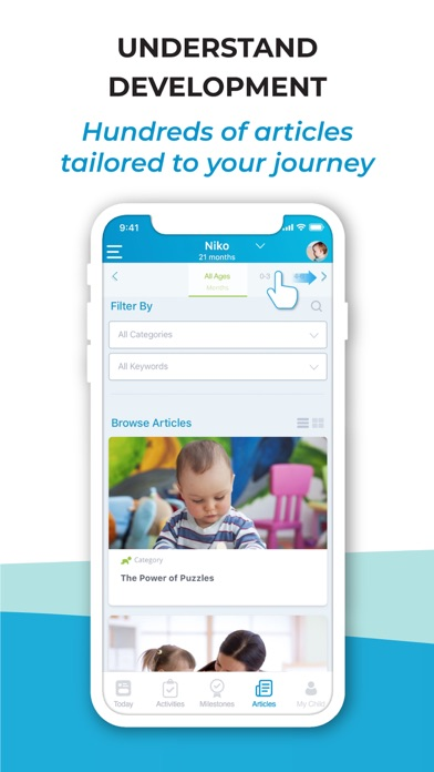 BabySparks - Development App Screenshot