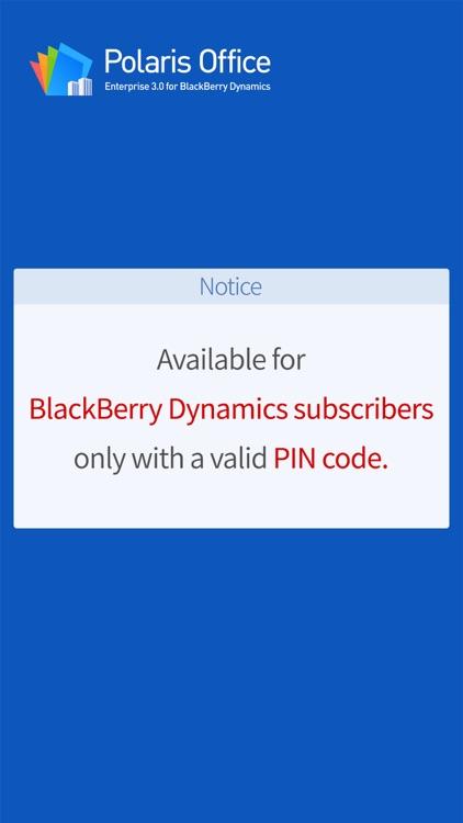 POLARIS Office for BlackBerry screenshot-4