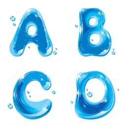 ABCD Alphabet Phonics - Color