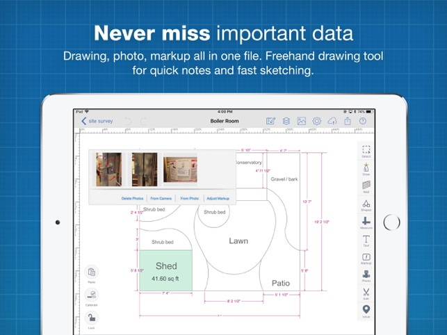 CAD Drawing & Drafting:ArcSite on the App Store