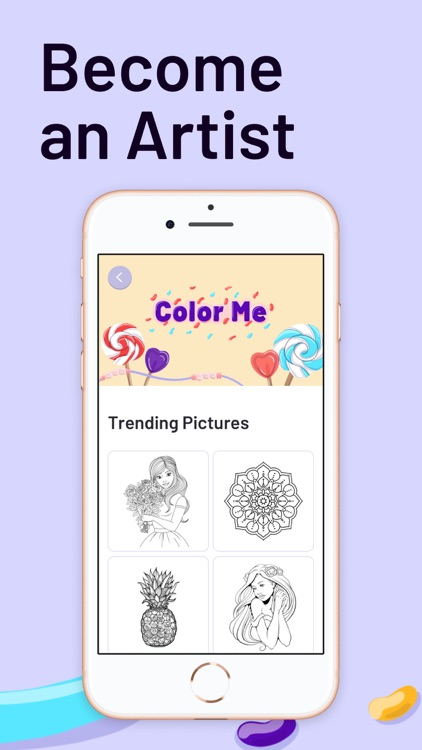 ColorMe - Adults Coloring Book screenshot-3