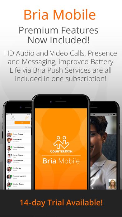 Bria Mobile: VoIP Softphone på PC