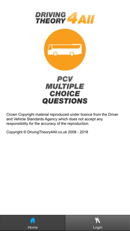 PCV Driving Theory Test 2019
