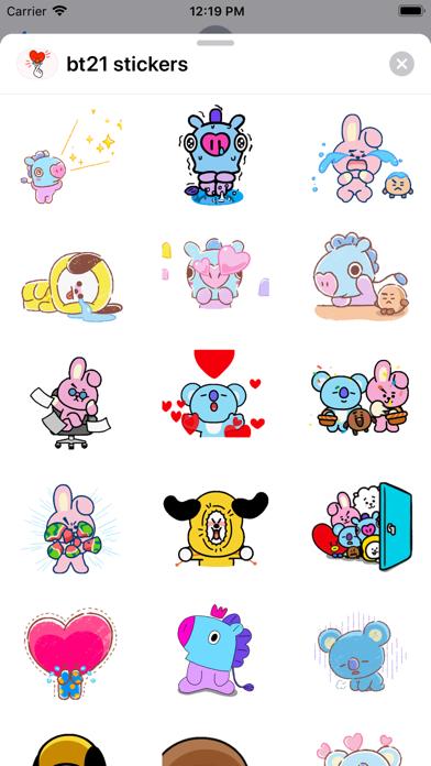 BT21 Stickers screenshot 1