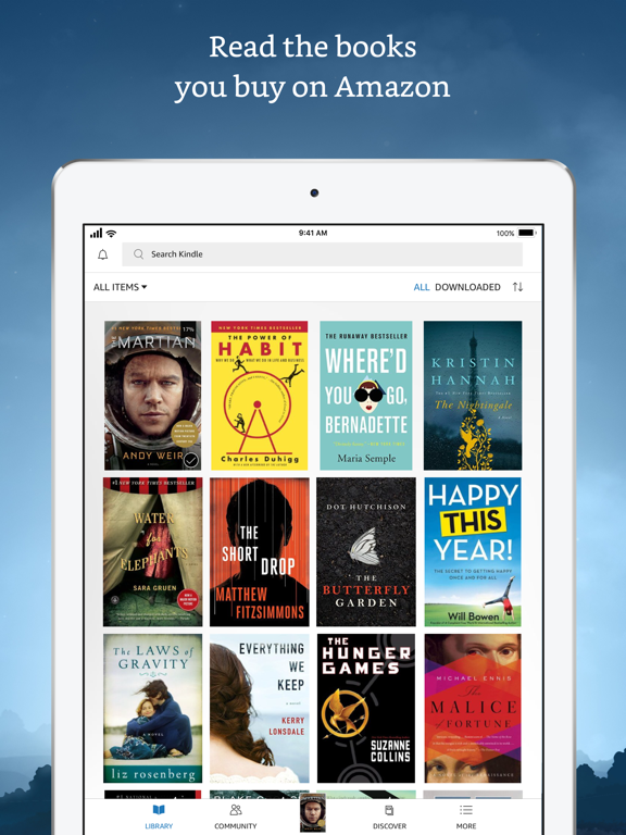 Kindle - Read Books, eBooks, Magazines, Newspapers & Textbooks screenshot