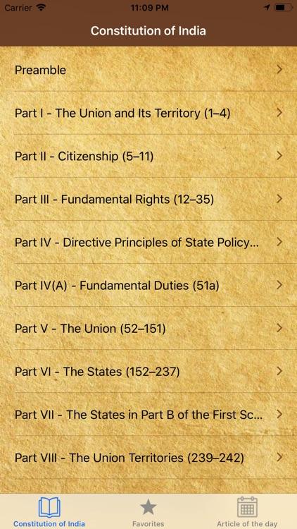 Constitution of India  English