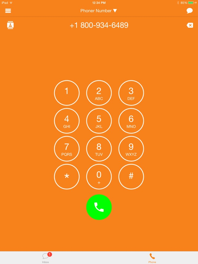 Phone:r Texting Calling Number on the App Store
