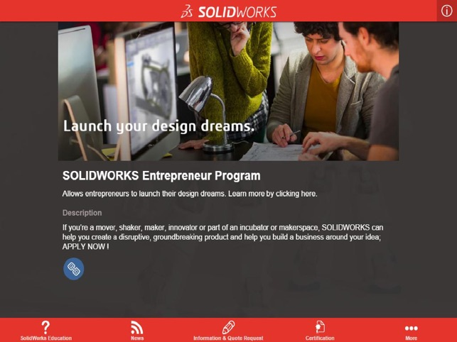 SOLIDWORKS Education on the App Store