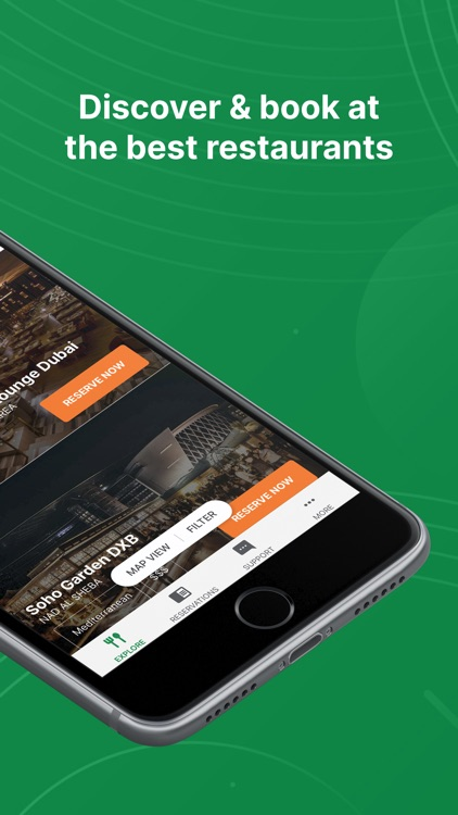 Eat App: Restaurant Bookings