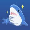 サメ友達ステッカー
