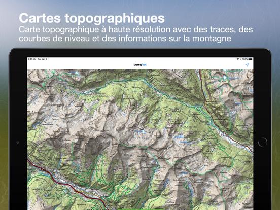 Screenshot #6 pour Tours Bergfex et suivi GPS