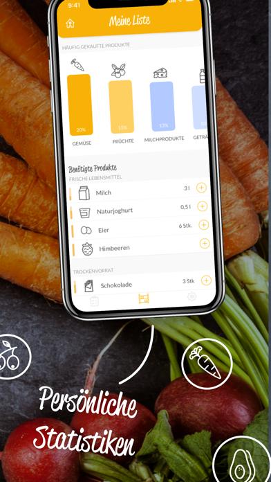 HNGRY - Einkaufsliste & VorratScreenshot von 5