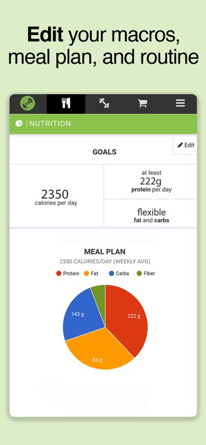 SF Meal & Workout Planner on the App Store