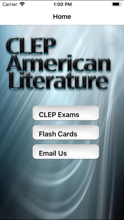 CLEP American Literature Prep screenshot-0