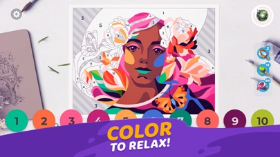 Gallery: Coloring Book & Decor screenshot one