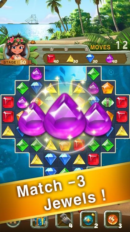 Paradise Jewel: Match-3 Puzzle screenshot-0