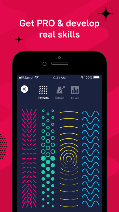 Screenshot for Jambl: Make Music & Beats Easy in Chile App Store
