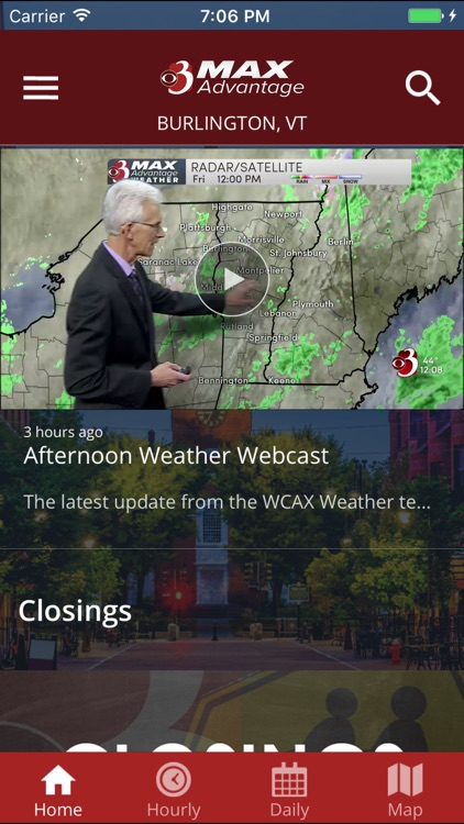 WCAX WEATHER - screenshot-1