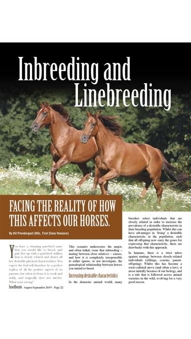 Hoofbeats MagazineScreenshot of 5