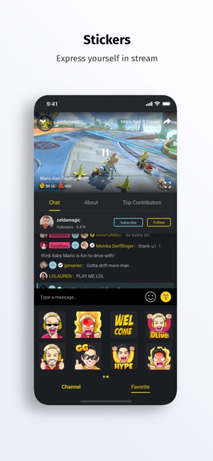DLive · Live Stream Community on the App Store