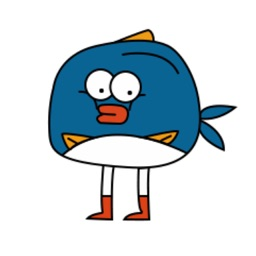 Dazed little fish