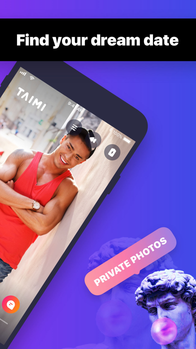 Taimi – Gay Dating,Chat,Social by Social Impact Inc  (iOS, United