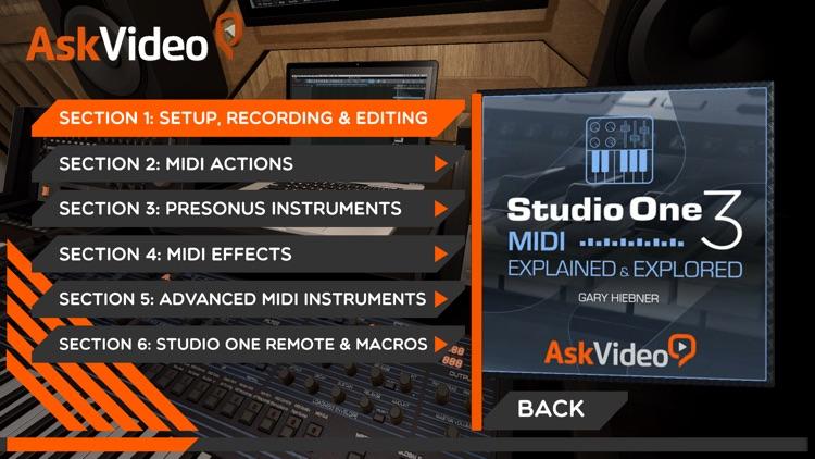 MIDI Course For Studio One 3