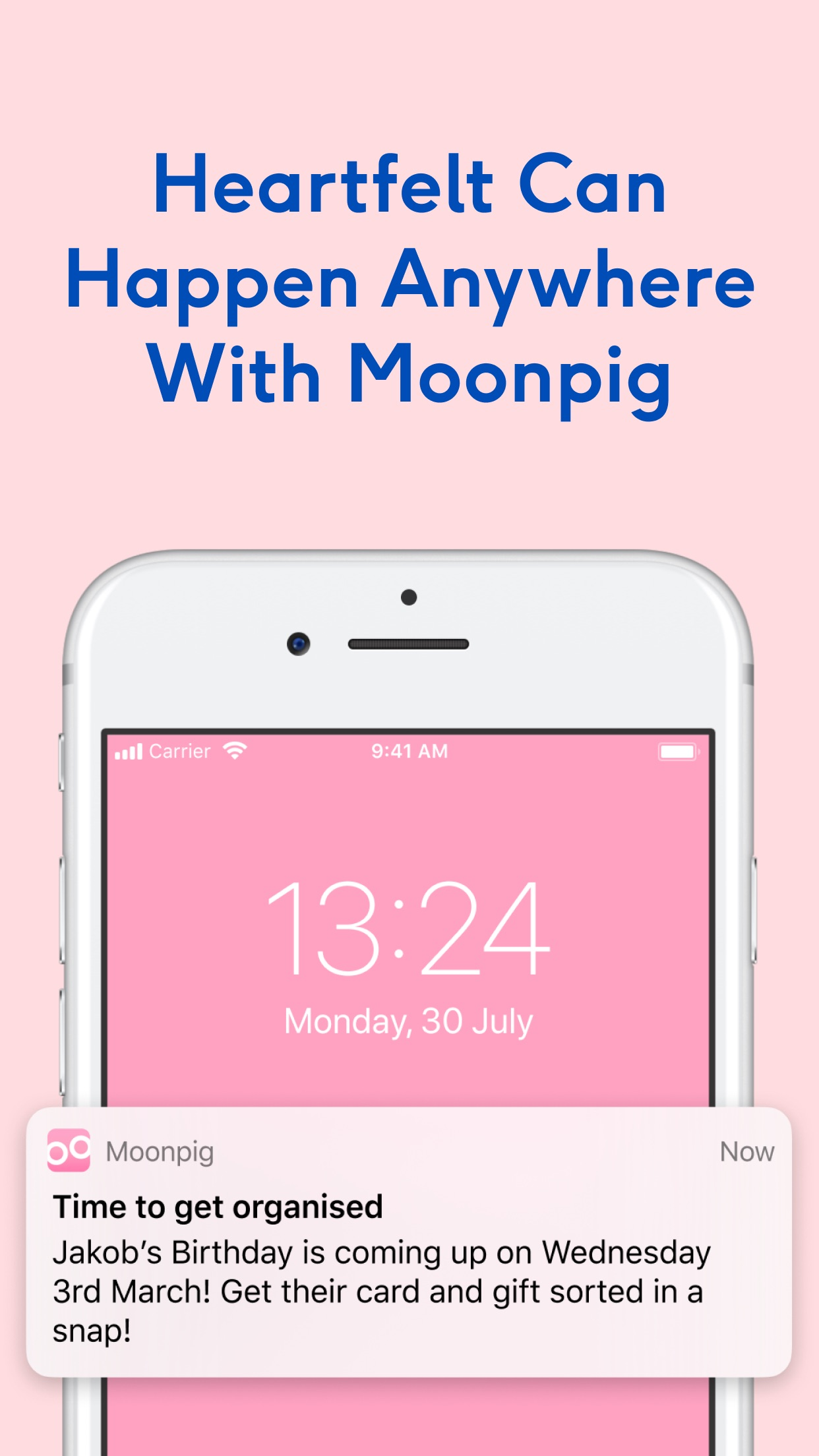 Moonpig - Unique Cards & Gifts Screenshot
