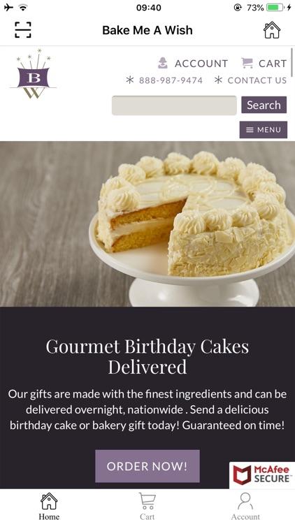 Phenomenal Bake Me A Wish Birthday Cake By Jin Xie Funny Birthday Cards Online Inifodamsfinfo