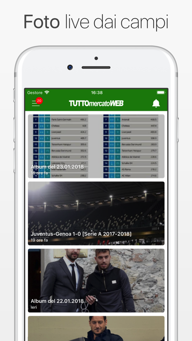 Screenshot #2 pour TuttoMercatoWeb.com