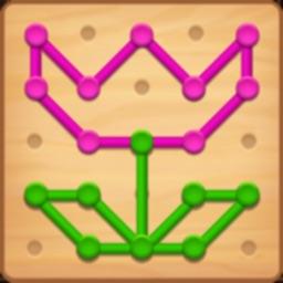 Line Puzzle: Color String Art