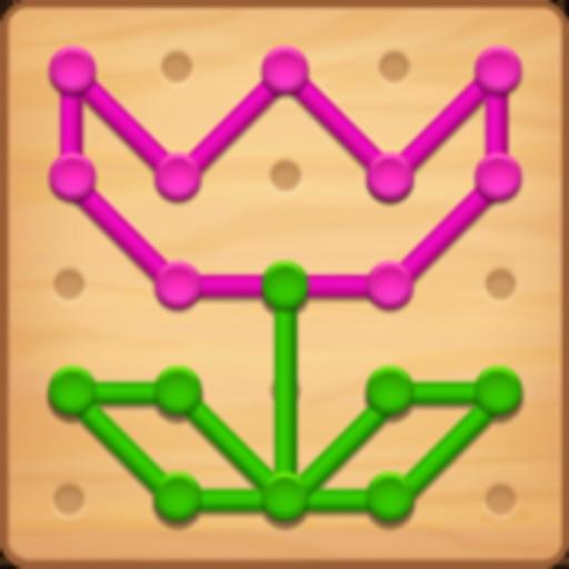 Line Puzzle: Color String Art icon