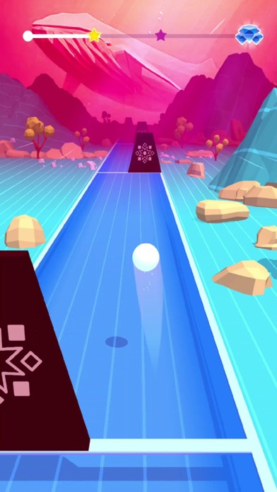 Rhythm Ball 3D screenshot 1