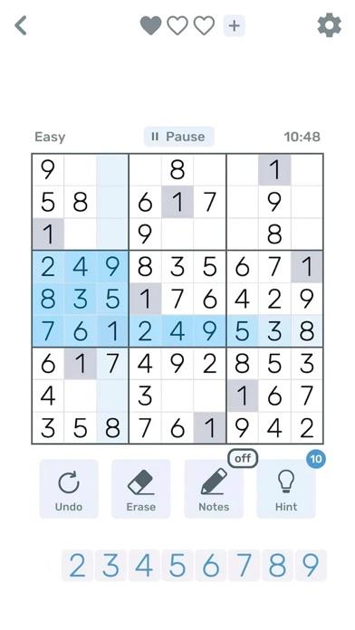 Sudoku Logic: Brain Math games screenshot 2