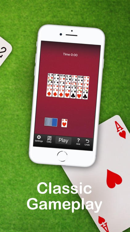 Golf Solitaire Card Game screenshot-1