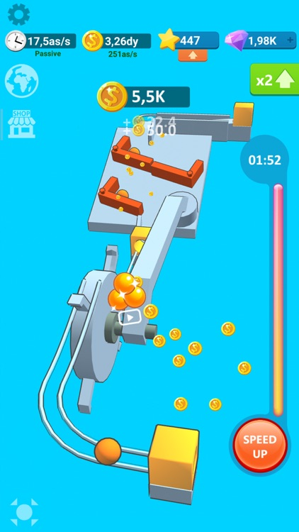 Balls Rollerz Idle 3D Puzzle screenshot-3