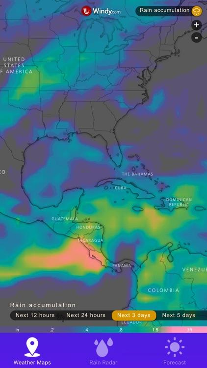 Rain Radar - Weather Forecast by DeluxeWare